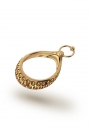 Adonis Vulcano Pierce Glans Ring, Gold