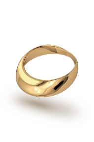 Adonis Frenulum Glans Ring, Gold