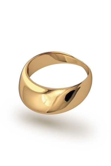 Adonis Frenulum XL Glans Ring, Gold