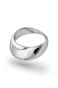 Adonis Frenulum XL Glans Ring, Silver