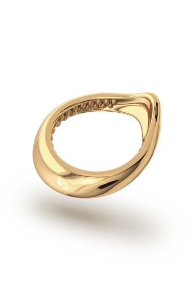 Adonis Stimu Glans Ring, Gold