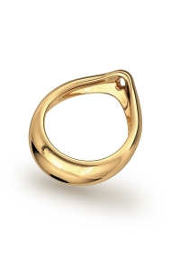 Adonis Prince Albert 3 Glans Ring, Gold