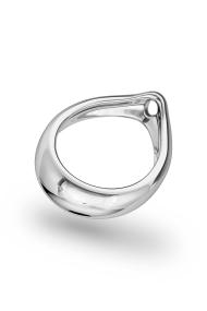 Adonis Prince Albert 4 Glans Ring, Silver
