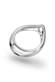Adonis Prince Albert 5 Glans Ring, Silver