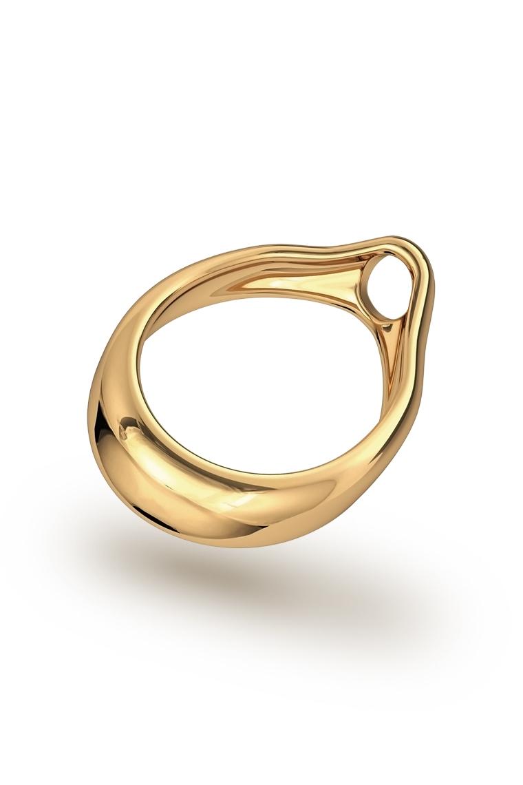 Adonis Prince Albert 7 Glans Ring, Gold - FANCY RINGS