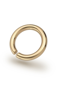 Asopos Classic Glans Ring, Gold