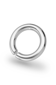 Asopos Classic XL Glans Ring, Silver