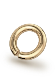 Asopos Classic XL Glans Ring, Gold