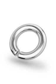 Asopos Classic XXL Glans Ring, Silver