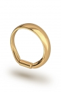 Apollon Frenulum Glans Ring, Gold