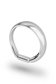 Apollon Frenulum Glans Ring, Silver