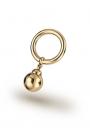 Asopos Pendeloque Glans Ring, Gold