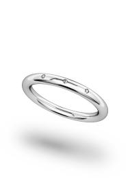 Minos Shine Penis Ring, Silver