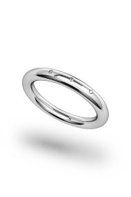 Minos Shine XL Penis Ring, Silver