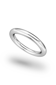 Minos Classic XL Penis Ring, Silver