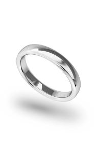 Morpheus Classic Penis Ring, Silver