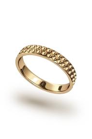 Morpheus Vulcano Penis Ring, Gold