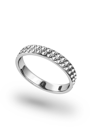 Morpheus Vulcano Penis Ring, Silver