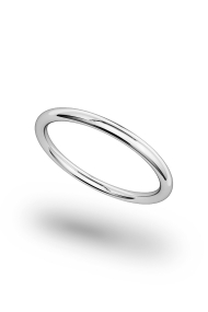 Hektor Classic Cock Ring, Silver