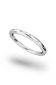 Hektor Shine XL Cock Ring, Silver