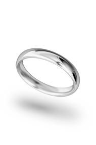 Hypnos Classic XL Cock Ring, Silver