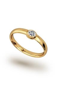 Hypnos Shine Cock Ring, Gold