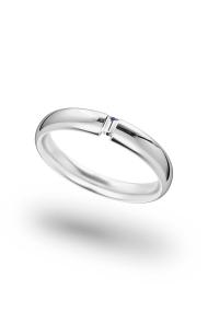 Hypnos Shine XL Cock Ring, Silver