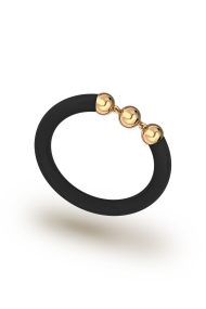 Hades Dark Cock Ring, Gold