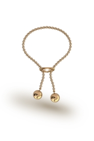 Kronos Ball Penis Chain, Gold
