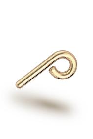 Perseus Classic XXL Urethra Ring, Gold