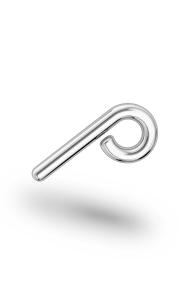 Perseus Classic XXL Urethra Ring, Silver