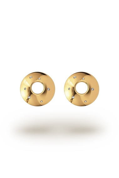 Alexia Shine XL Nipple Shields, Gold