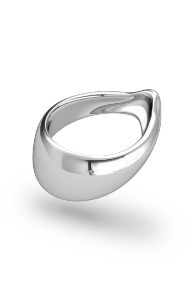 Adonis Classic XL Glans Ring, Silver