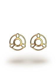 Melina ArtDeco Nipple Shields, Gold