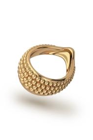Adonis Pearl XL Eichelring, Gold