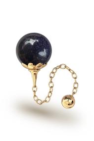Helena Blaufluss Vaginalkugel, Gold