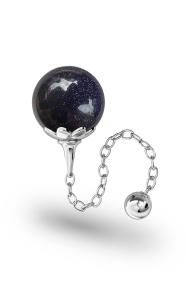 Helena Blaufluss Vaginalkugel, Silber