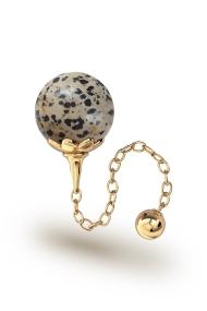 Helena Dalmatinerjaspis Vaginal Ball, Gold