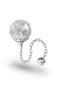 Helena Bergkristall Vaginal Ball, Silver