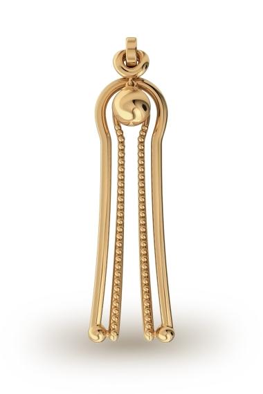 Aphrodite Ball Labia Clasp, Gold