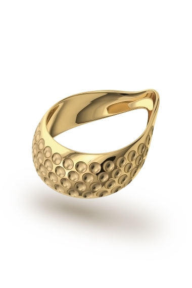Adonis Vulcano XL Glans Ring, Gold