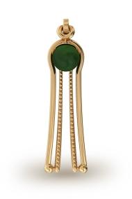 Aphrodite Jade Labia Clasp, Gold