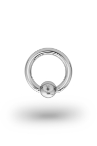 Olympia Classic 2,0/5 Ball Closure Ring, White Gold