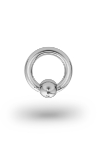 Olympia Classic 2,5/6 Ball Closure Ring, White Gold