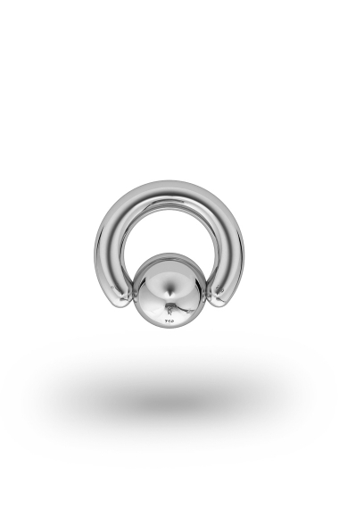 Olympia Classic 4,0/10 Ball Closure Ring, White Gold