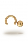 Olympia Classic 4,0/12 Ball Closure Ring, Yellow Gold