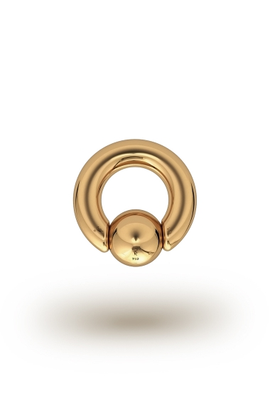 Olympia Classic 5,0/10 Ball Closure Ring, Yellow Gold