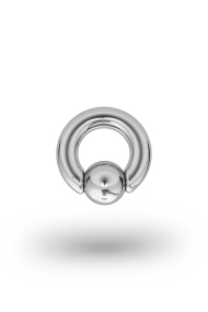 Olympia Classic 5,0/10 Ball Closure Ring, White Gold