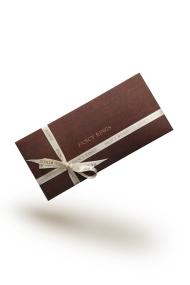 FANCY RINGS Geschenkgutschein