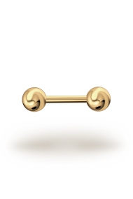 Elis Classic 1,8/6 Barbell, Yellow Gold